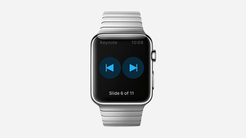 keynote for apple watch