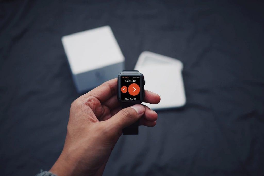 powerpoint apple watch